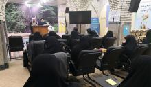 دیدار نمایندگان رهبری در بخش فرهیختگان و امور اساتید با اساتید حوزه علمیه حضرت عبدالعظیم(ع)