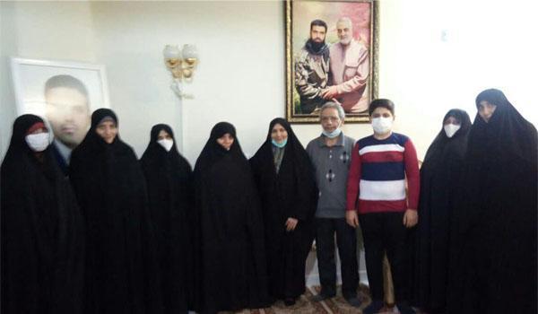 دیدار با مادر شهید مدافع حرم شهرری- شهید مصطفی محمدمیرزایی