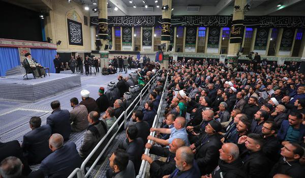 دیدار جمعی از موکبداران عراقی با رهبر انقلاب اسلامی