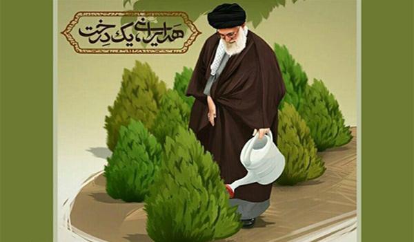 هر ایرانی یک درخت- روز درختکاری
