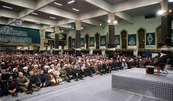 بیانات مقام معظم رهبری مدظله العالی در دیدار مردم آذربایجان شرقی- ۱۳۹۶/۱۱/۲۹