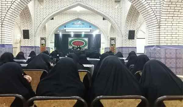 مراسم سوگواری شهادت حضرت فاطمه سلام الله علیها